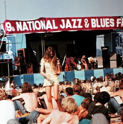 The 9th National Jazz & Blues Festival held at Plumpton in 1969