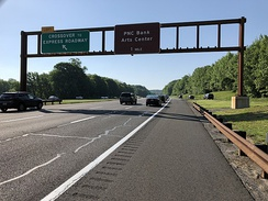 The Garden State Parkway, the largest and busiest highway in Holmdel