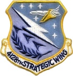 4128th Strategic Wing emblem