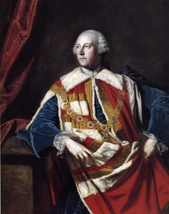 John Russell, 4th Duke of Bedford, for whom the county was named