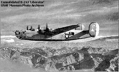 B-24 of the 98th Bombardment Group
