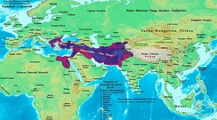 Alexander's empire was the largest state of its time, covering approximately 5.2 million square km.