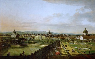View of Vienna in 1758, by Bernardo Bellotto