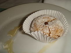 Biscuit aux quatre épices - cookie seasoned with quatre épices
