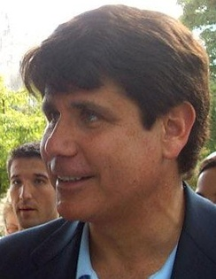 Blagojevich greets students at Illinois State University in 2006