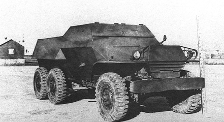 WC-62 armored car prototype