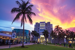 Florida International University, with its main campus in nearby University Park, is the largest university in South Florida and the fourth largest university in the United States. It is also one of Florida's primary research universities.