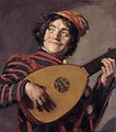 Frans Hals: Buffoon playing a lute, 1623.