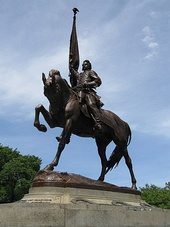 Logan monument in Logan Circle, Washington, D.C.