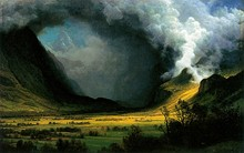 Storm in the Mountains, c. 1870, Museum of Fine Art, Boston, MA