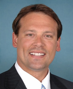 Heath Shuler, who was re-elected as the U.S. Representative for the 11th district