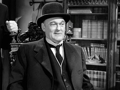 Henry Potter (Lionel Barrymore) was placed in AFI's 100 Years ... 100 Heroes & Villains as No. 6 of villains, while George Bailey was voted No. 9 of heroes.