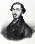 Felice Varesi, the first Germont père(Litho: Josef Kriehuber)
