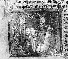 The marriage of Amalric I of Jerusalem and Maria Comnena at Tyre