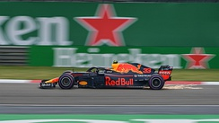 Verstappen at the 2018 Chinese Grand Prix