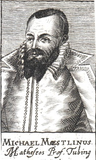 Michael Maestlin, the first to write a decimal approximation of the ratio