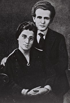 David and Paula Ben-Gurion, 1 June 1918.