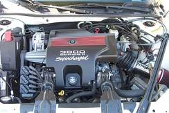 The 3800 Series II L67 Supercharged engine in a 1998 GS
