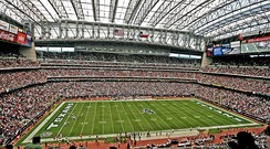 NRG Stadium is the home of the Houston Texans.