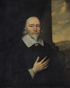 Richard Love, 17th-century painting by the circle of Cornelis Janssens van Ceulen.
