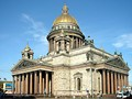 Saint Isaac's Cathedral in St. Petersburg.