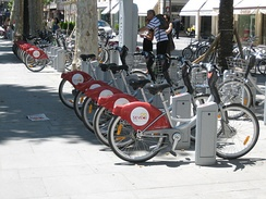 Sevici Bicycle station