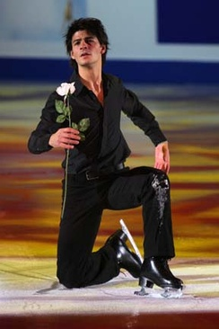 Lambiel during the exhibition at the 2007-2008 Grand Prix Final.