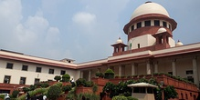 Supreme Court in Delhi is the apex court in the country.