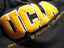A hoodie from the UCLA Store