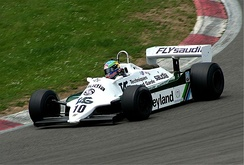 The Cosworth-powered Williams FW07 had a similarly lengthy competitive career and was the BT49's main rival in 1980 and 1981.