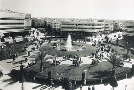 Dizengoff Square in the 1940s