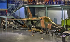 F-111E on display at the Museum of Aviation, Robins AFB