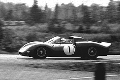 330 P2 driven by John Surtees at the 1965 1000 km Nürburgring