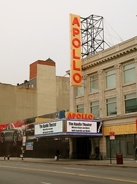 The Apollo Theater on 125th Street in November 2006