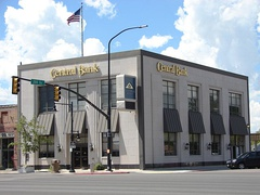 The Central Bank on South Main Street.