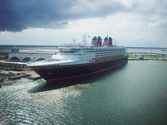 Disney Wonder in Port Canaveral