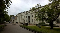 Former Dreadnought Seamen's Hospital building at Greenwich, built in 1763 as the Royal Hospital's Infirmary