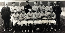Everton also toured to Argentina and Uruguay in 1909