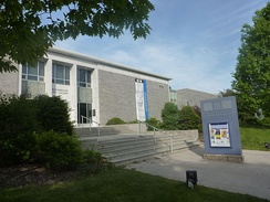 The Beaverbrook Art Gallery is New Brunswick's provincial art gallery.