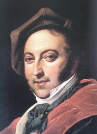 Gioachino Rossini in 1820, International Museum and Library of Music, Bologna