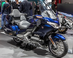 Honda Gold Wing bike
