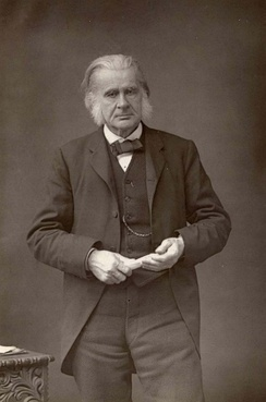 Photograph of Huxley (c. 1890)