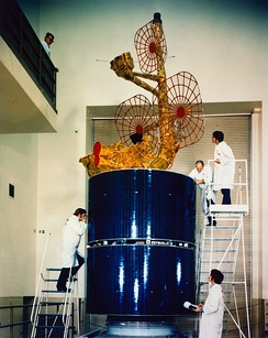 An Intelsat IVA Satellite