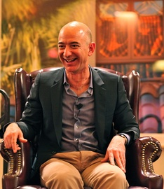 As of 2019, Jeff Bezos is the richest person in the world.