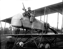 Reconnaissance version of the MF.11 with camera detail