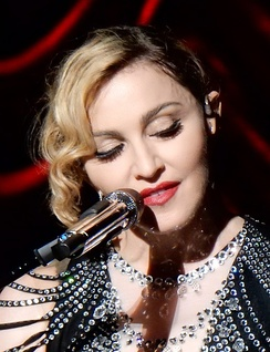Madonna, seen here on the Rebel Heart Tour (2015), has had a social-cultural impact on the world through her artistic endeavors.