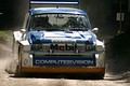 The MG Metro 6R4 was developed by Williams for the 1986 World Rally Championship