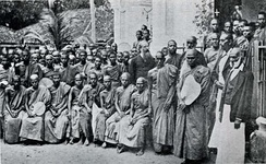 The Buddhists and Colonel Olcott in Colombo (1883)