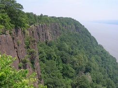 The Palisades along the Hudson River, New Jersey