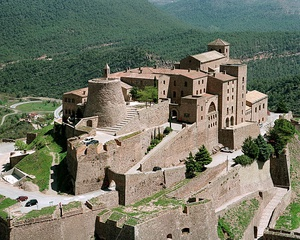 Castell de Cardona, a Parador located in a medieval fortress.